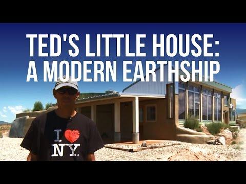 Ted's Little House: A Modern Earthship