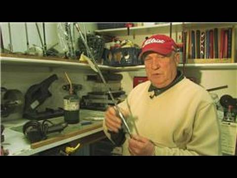Golf Equipment : How to Remove Rusted Golf Shafts