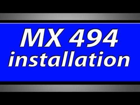 Canon Pixma MX494 printer installation