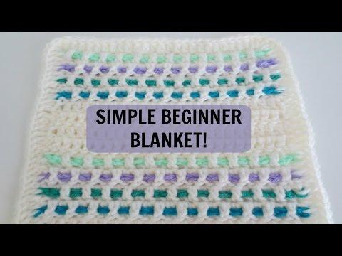 Simple Blanket Pattern for Beginners