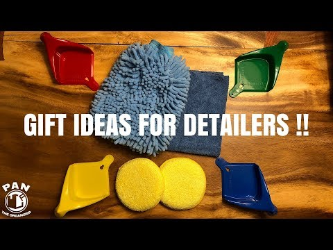 GIFT IDEAS FOR DETAILERS AND CAR GUYS!