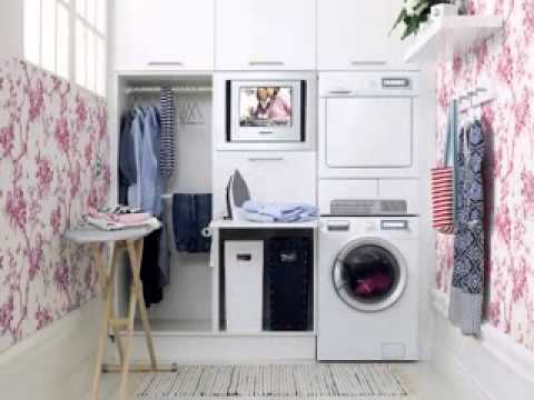 DIY Garage laundry room decorating ideas