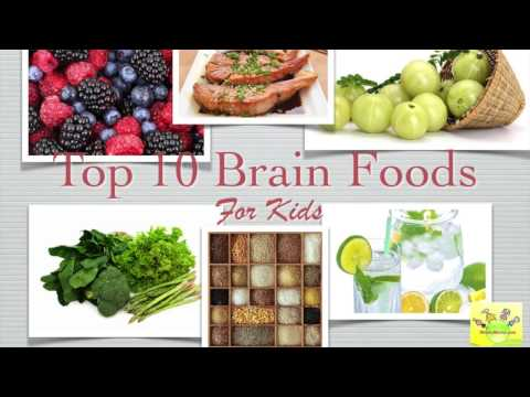 Top 10 Brain Foods for kids