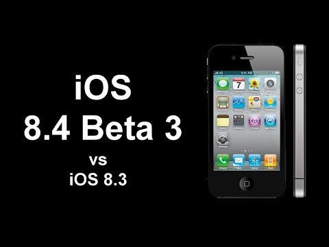 iOS 8.3 vs iOS 8.4 Beta 3 on iPhone 4S - Speed test