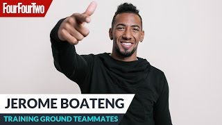 "Jerome Boateng | ""David Alaba scores worldie goals in training!"" 
