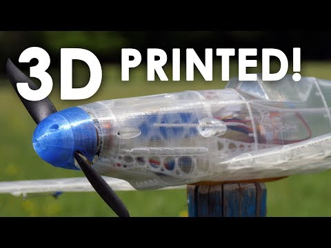 HOW TO 3D PRINT your own RC AIRPLANE