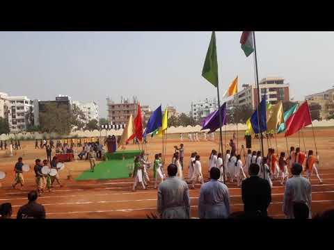 Andhra Loyola college VIJAYAWADA   sports day 2018