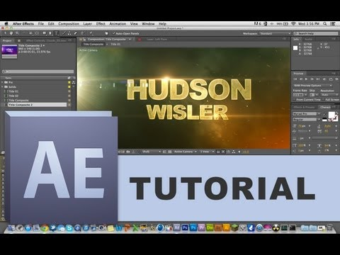 How to Edit TEMPLATES in Adobe After Effects (Beginner Tutorial)