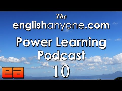 The Power Learning Podcast - 10 - Building Your English Fluency And Speaking Confidence Suit
