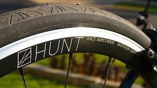 HUNT Race Aero Wide Road Wheelset: Unboxing, Install, Ride Review