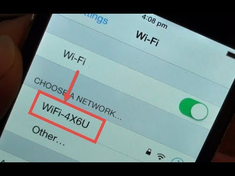 FIXED: Find Missing Wi-Fi network Not Showing on the iPhone 4
