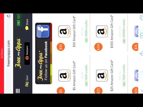 FREEMYAPPS HACK 2016 (10 dollars in 1 min) Glitch working on ios/android/windows