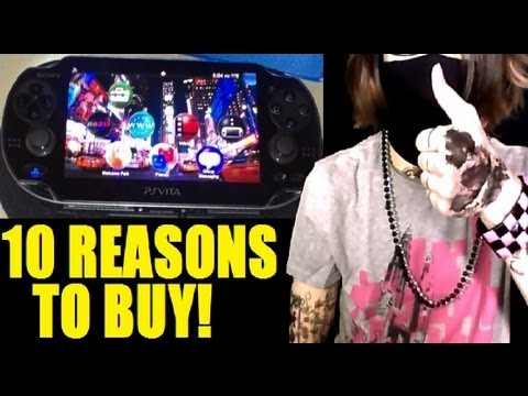 TheReviewSpace 10 Reasons To Buy a PS Vita (Now!)