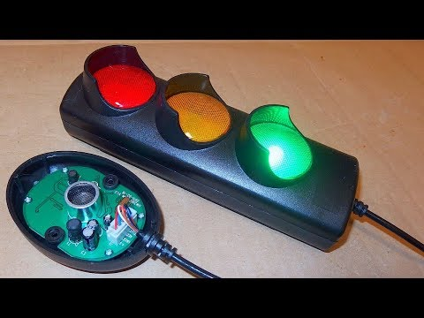 Traffic Light Garage Parking Sensor - unboxing, teardown, schematic