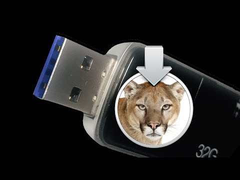 How To Create a Mac OS X Mountain Lion 10.8.2 USB Boot Disk Part 1