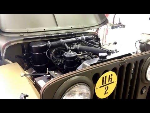 First Run Grandpas Jeep 46 CJ2A 3/11/16