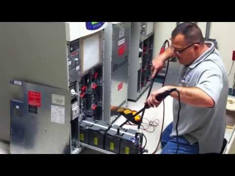 Preventative Maintenance Inspection on UPS batteries for data center