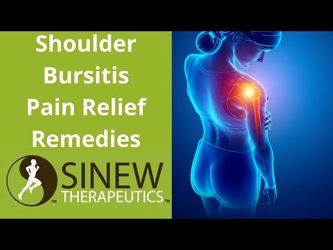 Shoulder Bursitis Pain Relief Remedies