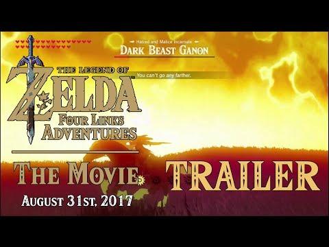 TRAILER Zelda: Four Links Adventures THE MOVIE (Best EPIC Trailer on YOUTUBE!) within Zelda BotW DLC