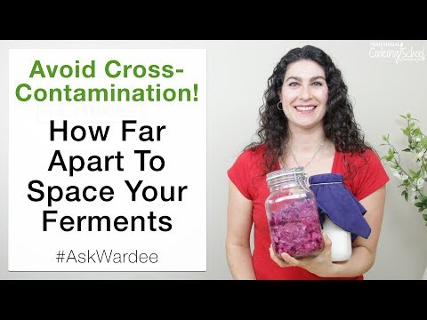 Avoid Cross Contamination: How Far Apart To Space Your Ferments | #AskWardee 089