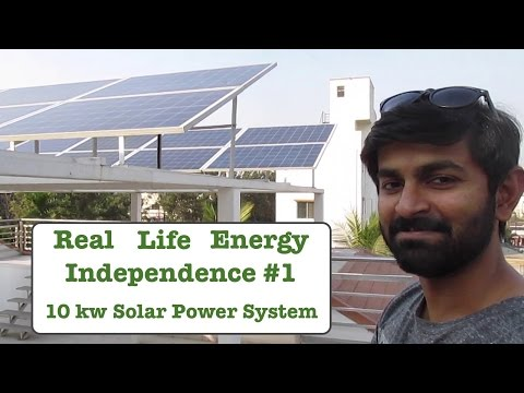 Real Life Energy Independence - 10 kw Solar Power Setup