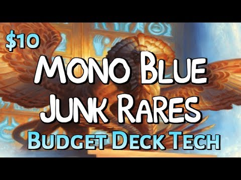 Mtg Budget Deck Tech: $10 Mono-Blue Junk Rares in Amonkhet Standard!