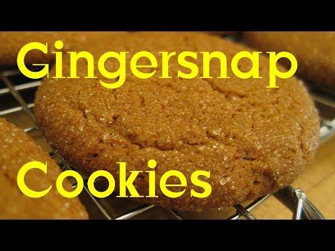Gingersnap Cookies Recipe Tutorial S3 Ep312