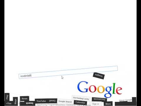 Just Playing with Google Gravity