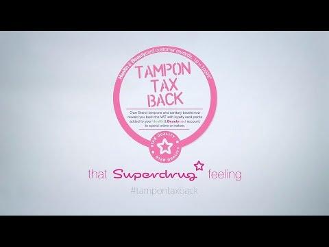 Take Back The Tampon Tax!