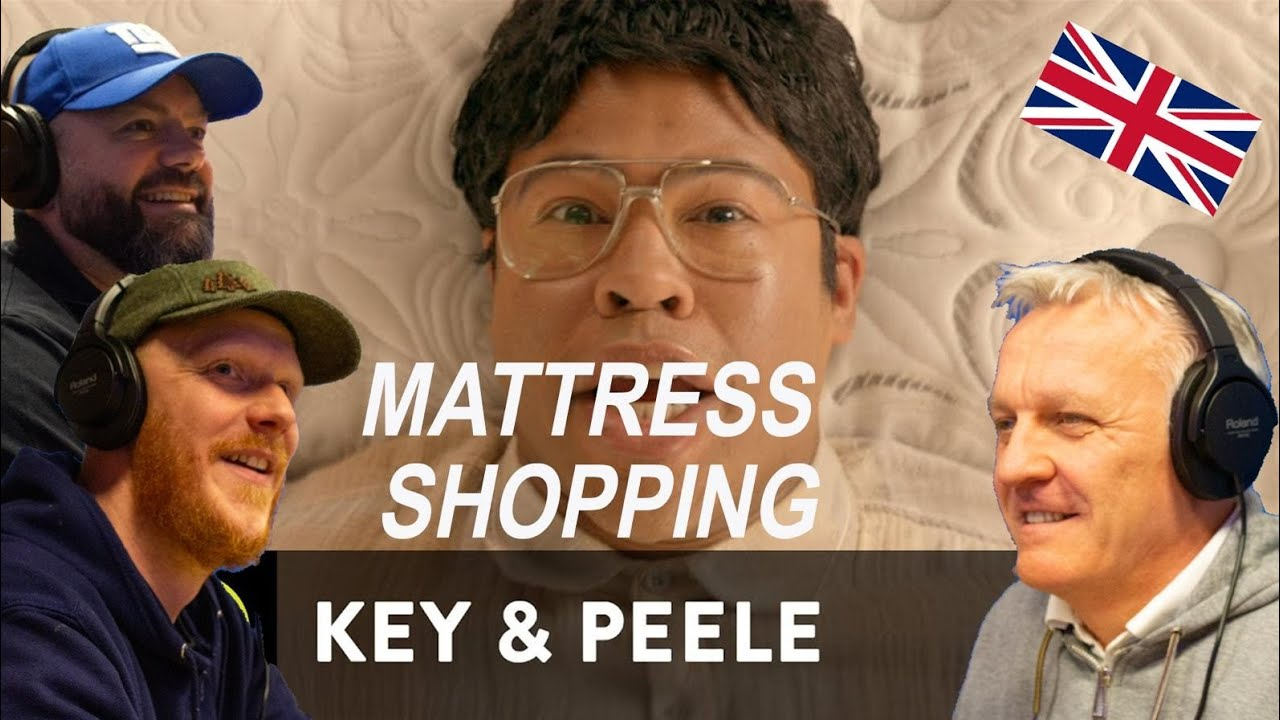 Key & Peele - Mattress Shopping REACTION!! | OFFICE BLOKES REACT!!
