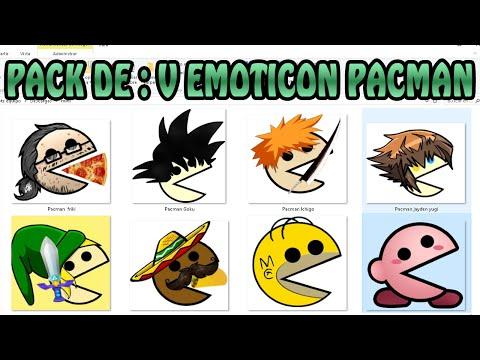 PACK DE :V EMOTICON PACMAN MEME - DESCARGA