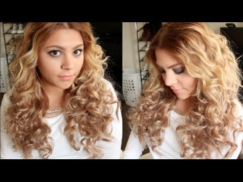 HOW TO | Big Bouncy Curls