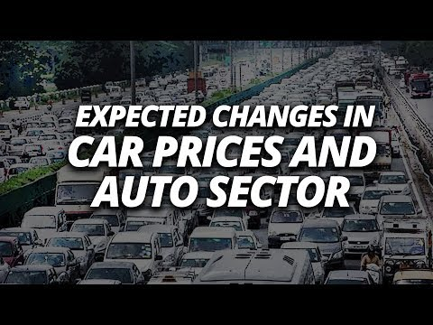Expected Changes In Car Prices And Auto Sector