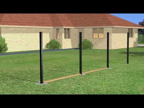 Slipfence Horizontal Installation Video