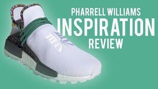 ed34c64e6e1a0 ADIDAS NMD HU PHARRELL INSPIRATION WHITE REVIEW!!