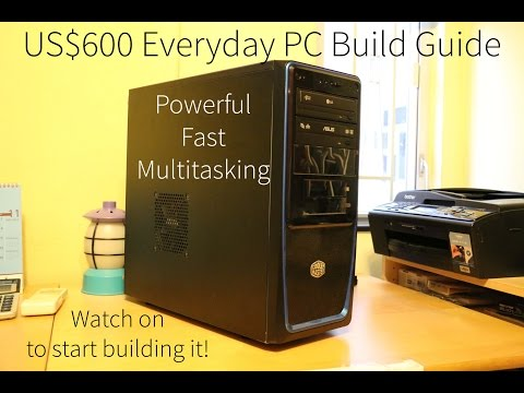 US$600-Mid-Range Everyday PC FULL BUILD GUIDE (2014 Christmas)