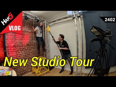 New Studio Tour - Hak5 2402
