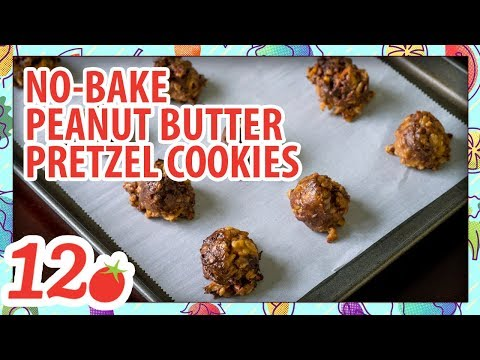 How to Make: No Bake Peanut Butter Pretzel Cookies