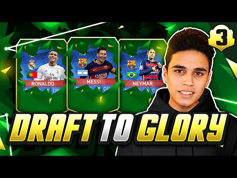 FIRST DRAFT WIN?! - FUT DRAFT TO GLORY #03 - FIFA 16 Ultimate Team