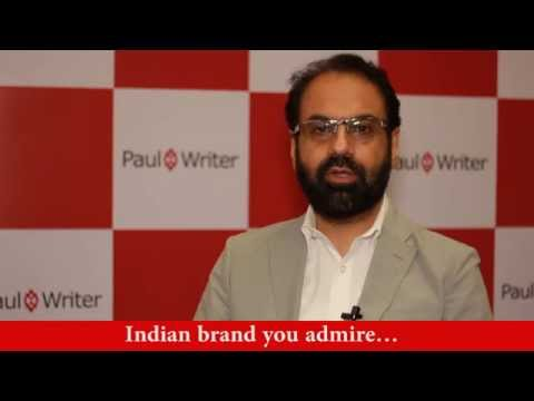 Indian brand you admire...