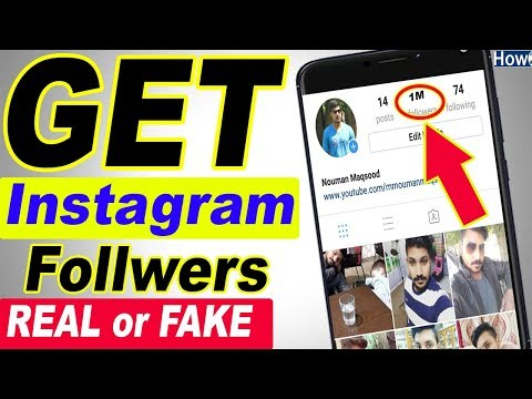 How to get Unlimited Instagram followers Fast and Blue Verification Badge Real or Fake 2018