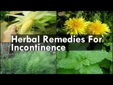 Remedies For Incontinence
