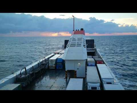Enduring the 10-Hour, Overnight Car Ferry from Greece to Italy