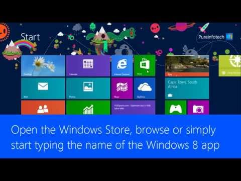 How to install and uninstall Windows 8 apps from the Windows Store - Pureinfotech Tutorials