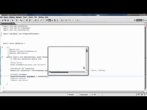 JDBC( Java Database Connectivity) - Part2