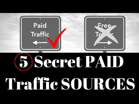 Best 5 Paid Traffic Source for 2018...Not Facebook
