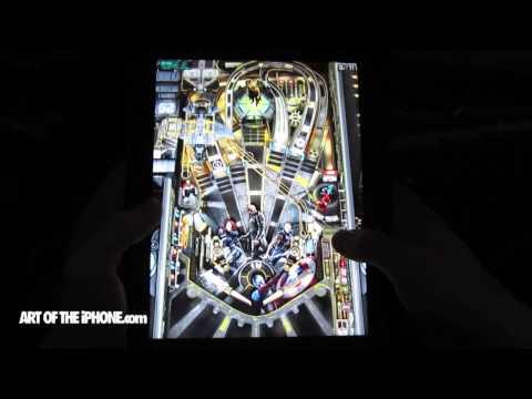 Avengers Table in Zen Pinball on iPad