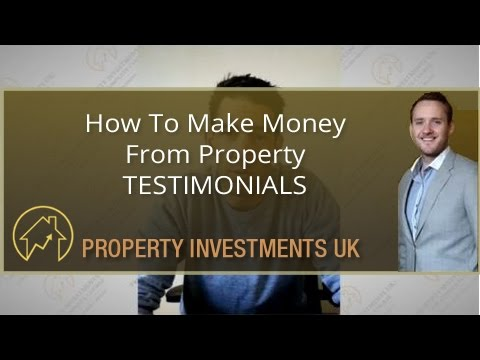 How To Make Money From Property - Testimonials