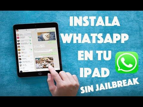 Como instalar WhatsApp en iPad, iPod, y aplicaciones  hackeadas sin Jailbreak en IOS 9,10 (2017)