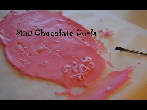 Mini Chocolate Curls